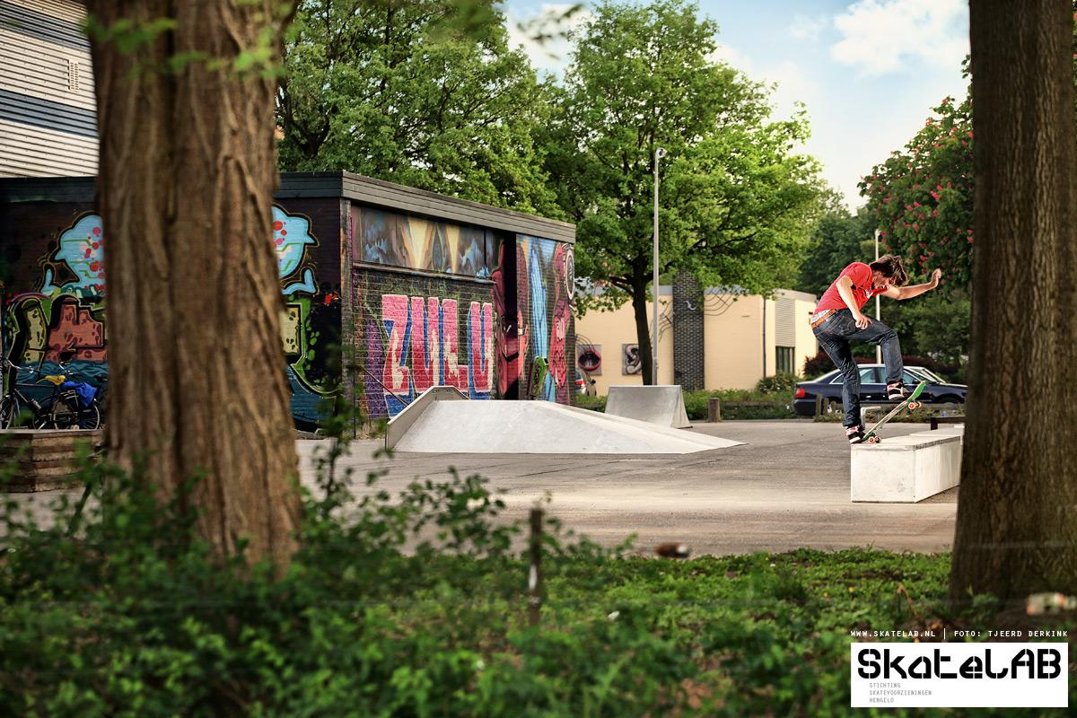 nieuw skatepark amsterdam